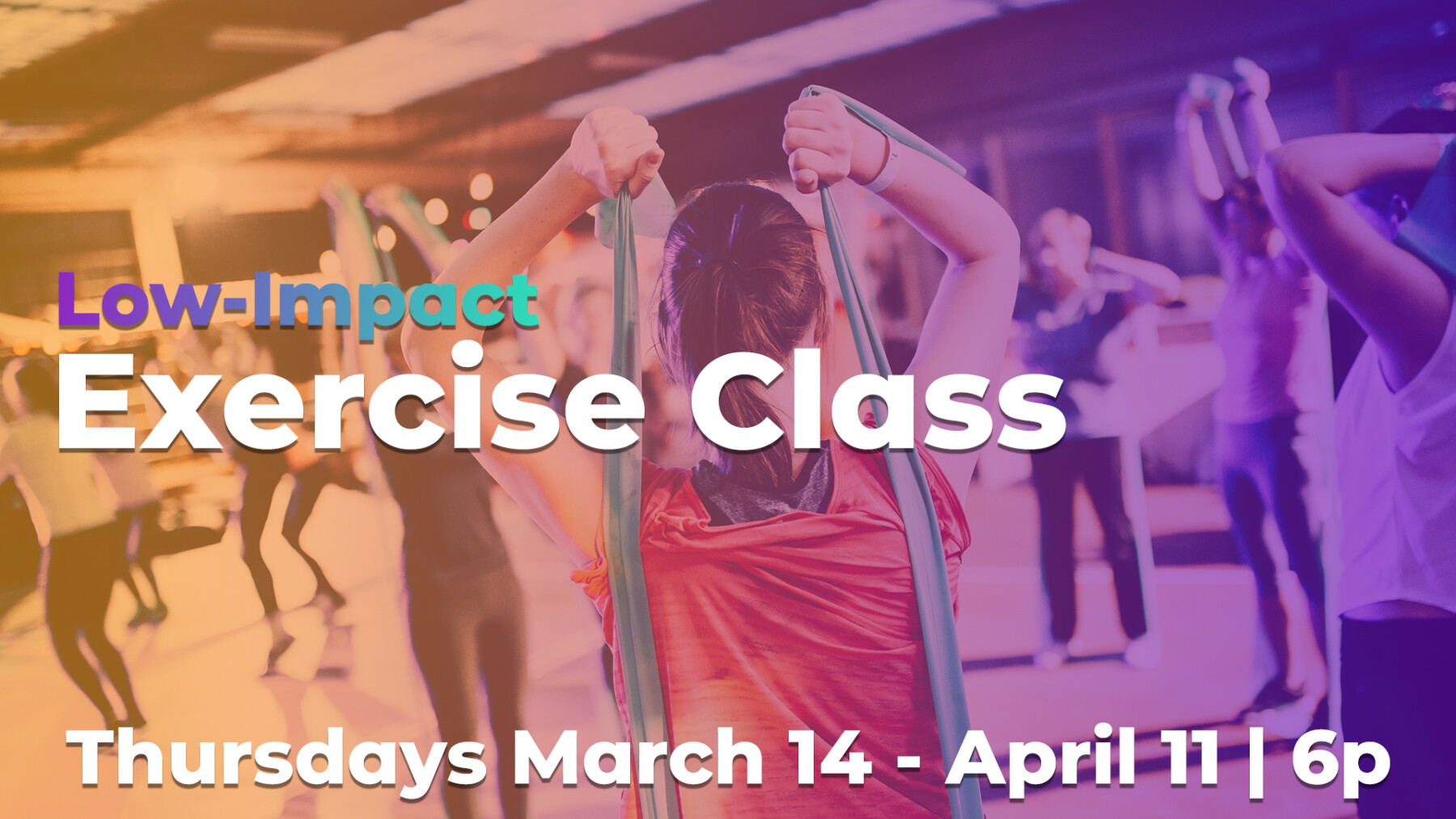 Low Impact Exercise Class