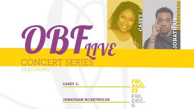Casey J- OBF Live Concert Series