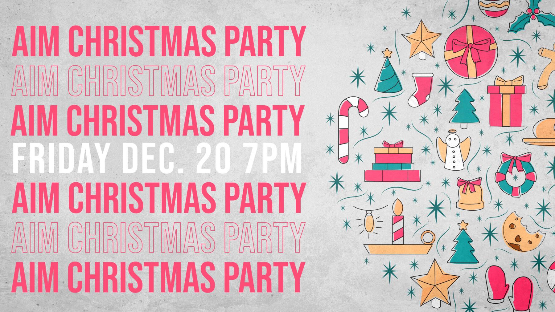 AIM CHRISTMAS PARTY